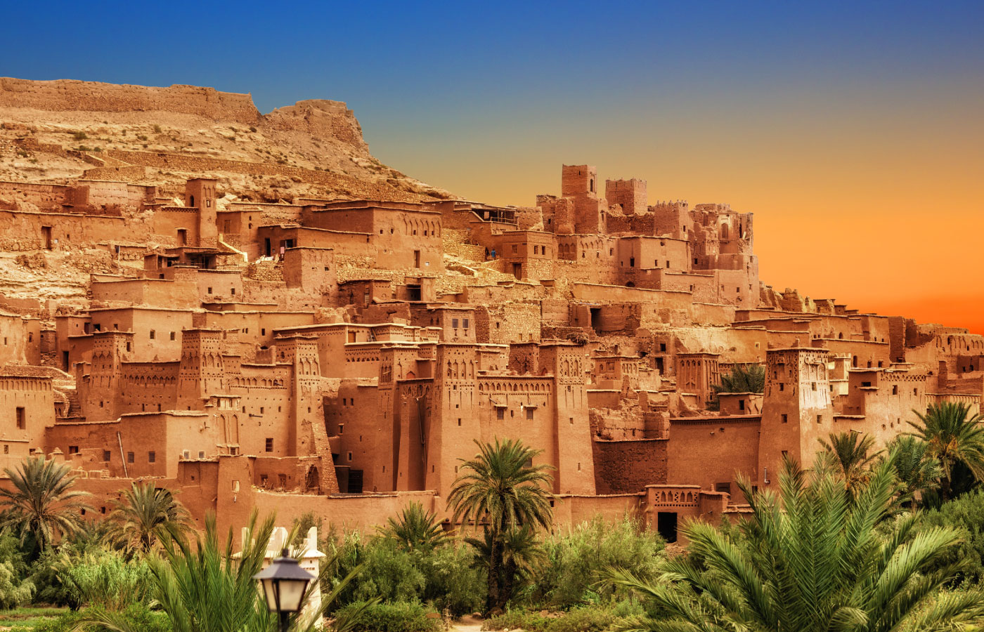 old moroccan city